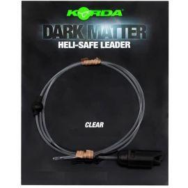 Korda Dark Matter Leader Heli-Safe  Weed 30lb 1m