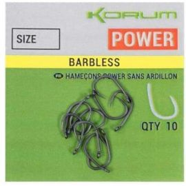 Korum Xpert Power Hooks Barbless