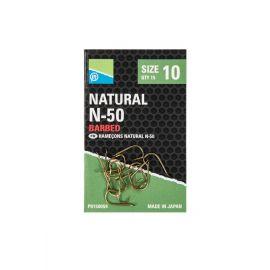 Preston Natural N-50 barbed Hook