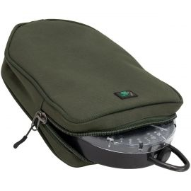 THINKING ANGLERS OLIVE SCALES POUCH